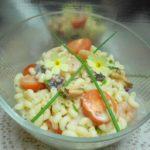 Salade de coquillettes aux fruits de mer