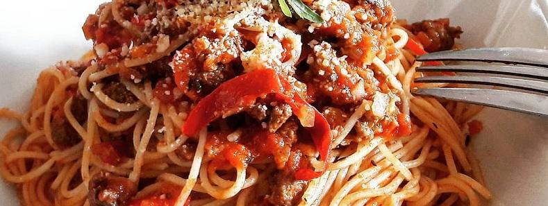 recette de spaghetti napolitaine