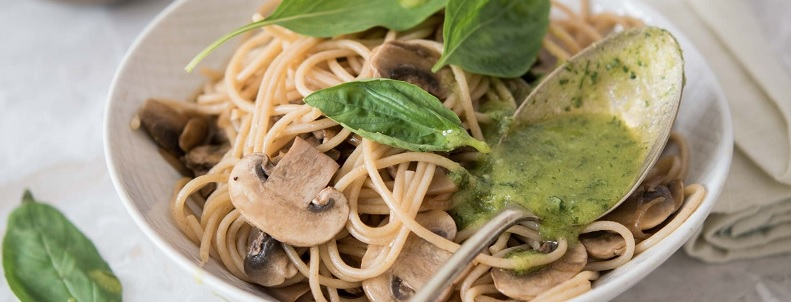 recette de spaghetti champignons