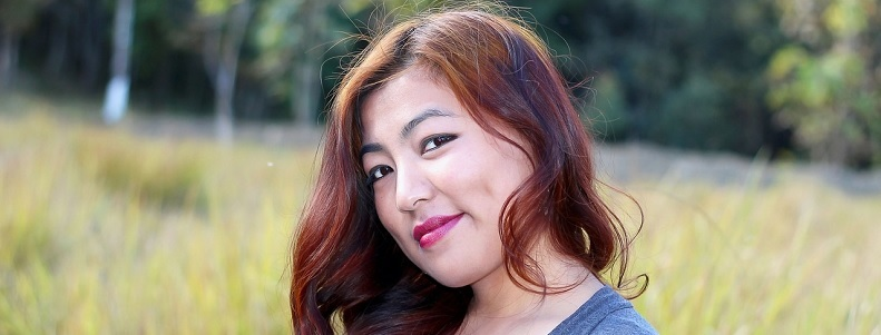 femme ronde asiatique